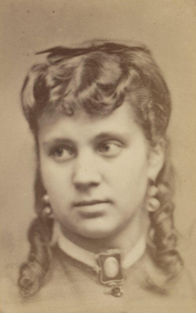 Junge Frau, 1860er Jahre