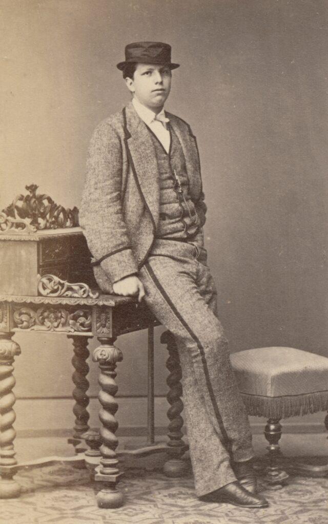 Männerporträt, 1860er Jahre