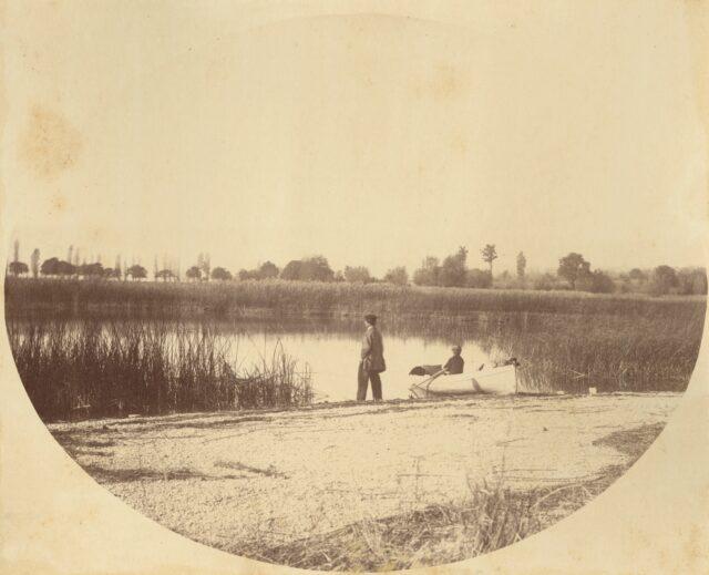 Am See, Lausanne, 1860er Jahre