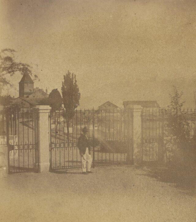 Bellerive, Ouchy, 1860er Jahre