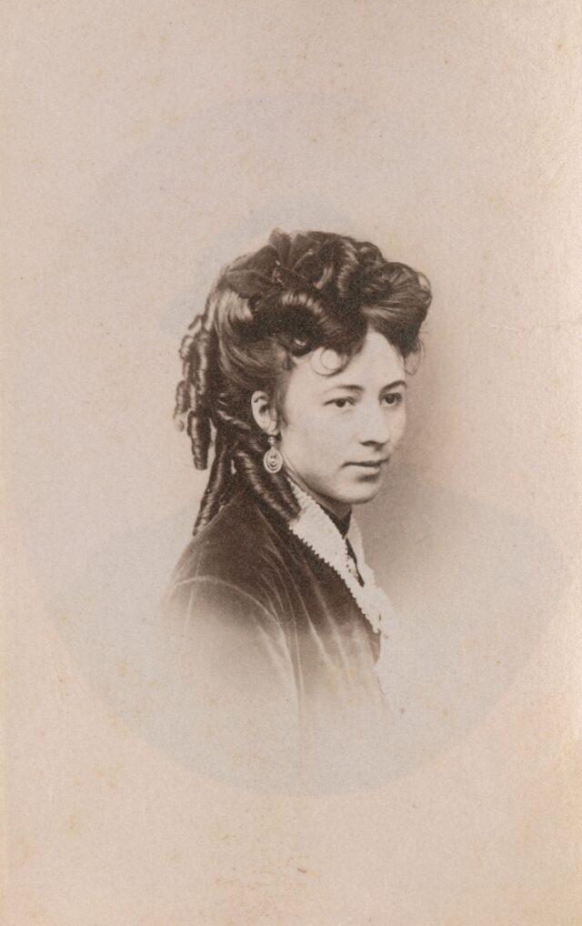 Frauenporträt, 1860er Jahre
