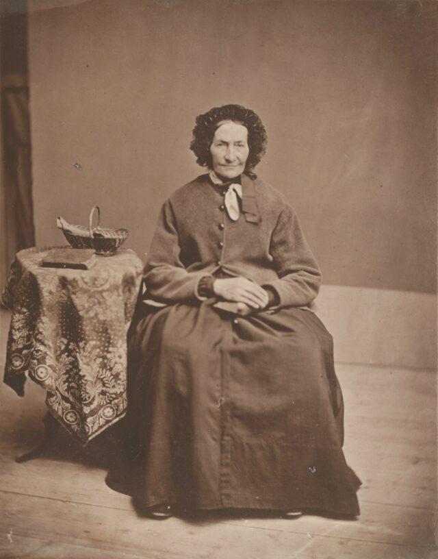 Frau Henriette Narbel, 1860er Jahre