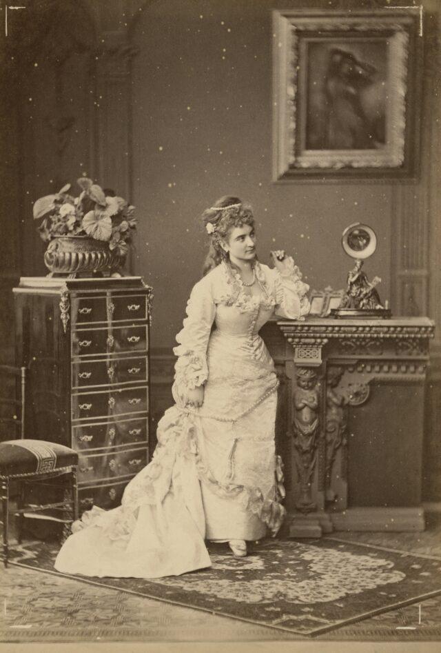 Atelierstudie, 1870er Jahre