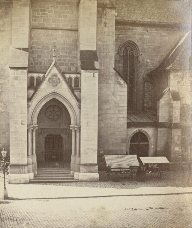 Eglise Saint-François, Lausanne, 1860er Jahre