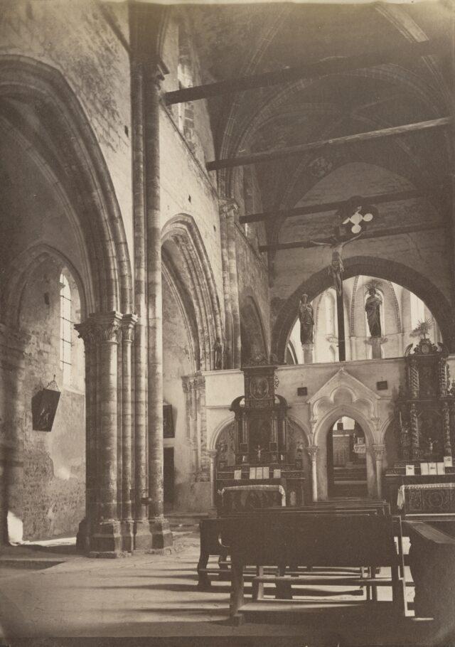 Interieur einer Kirche, 1870er Jahre