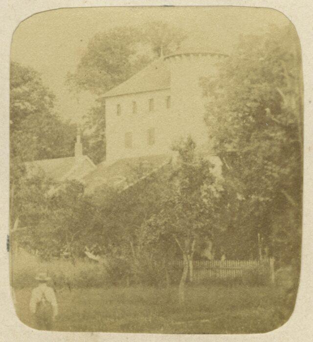 Schloss d'Allaman, Lugrin, Frankreich, um 1860