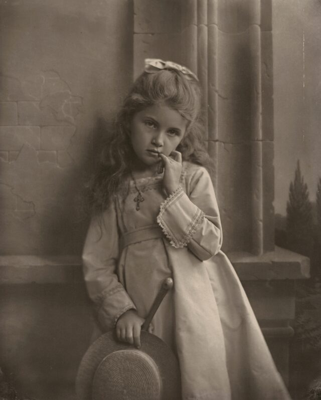 Porträt im Studio, 1870er Jahre