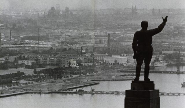 Blick auf Baku, 1968