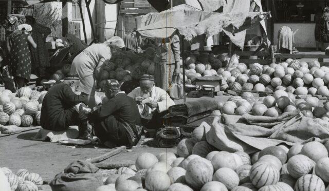 Markt von Taschkent, Usbekistan, 1968