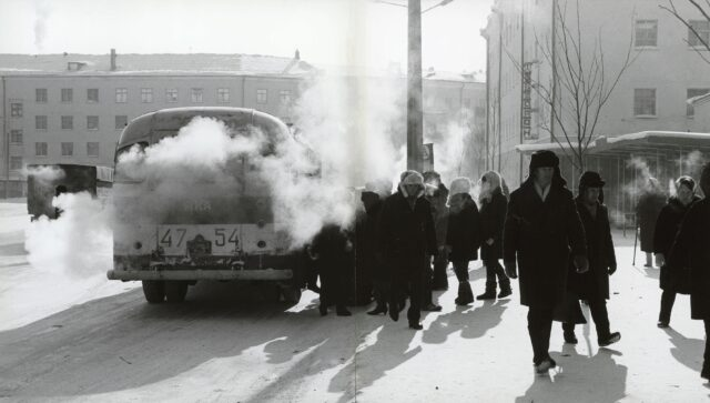 Jakutsk, Sibirien, 1970