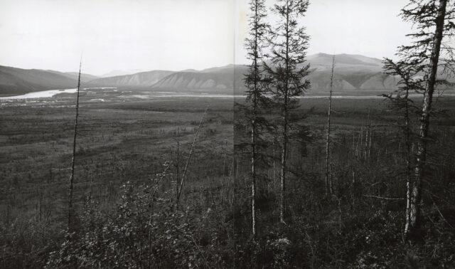 An der Indigirka bei Ust-Nera, Sibirien, um 1968