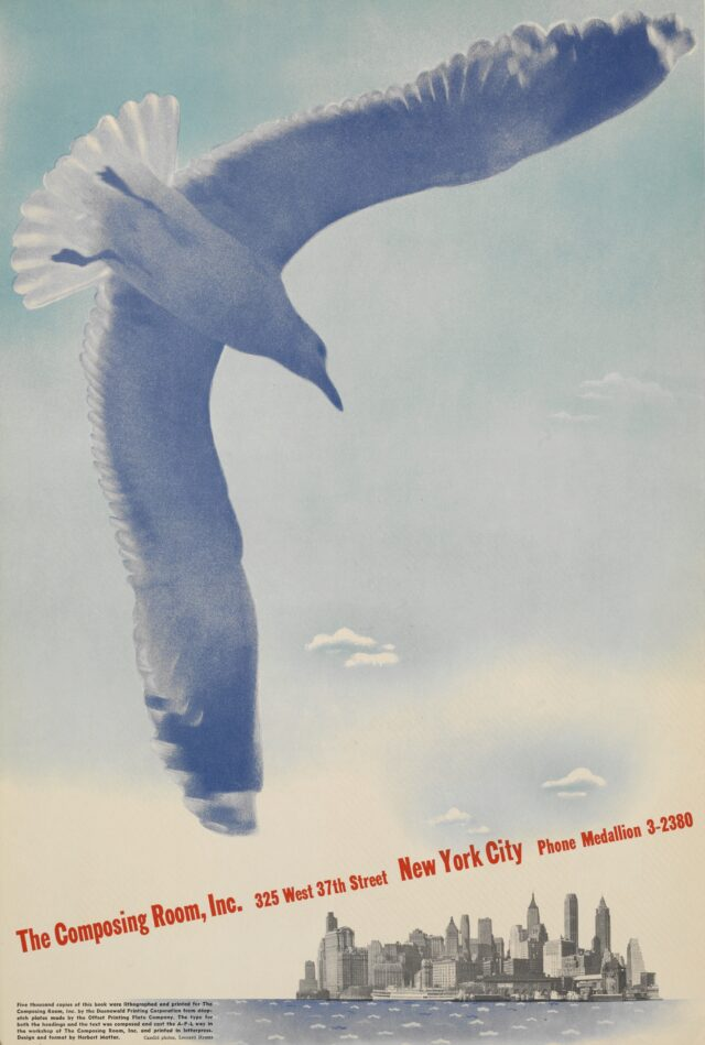 Composing Room Inc., Werbeprospekt, New York, nach 1936