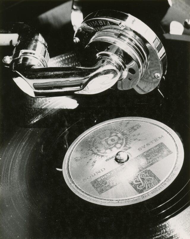 Grammophon, Schweiz, 1930er Jahre