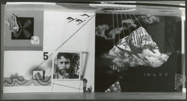Entwurf der Rückwand für Schweizerpavillon, Weltausstellung, New York, 1939