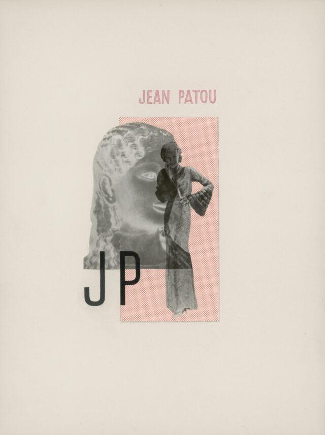 """Jean Patou"", um 1930 (Originalentwurf)"