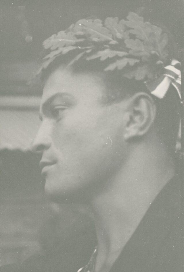 Schwinger im Wallis, um 1940