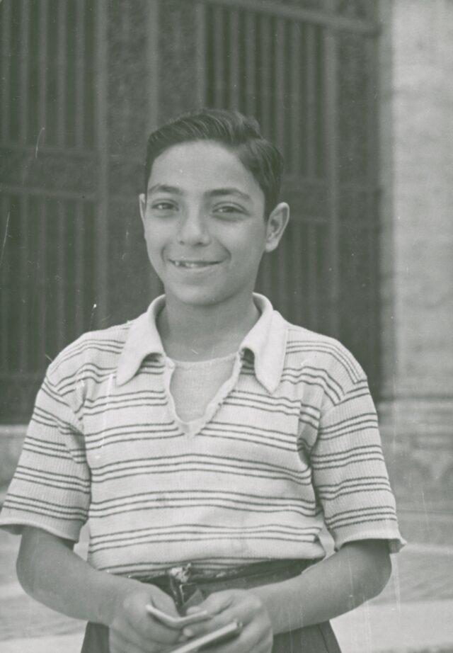 Knabe, um 1940