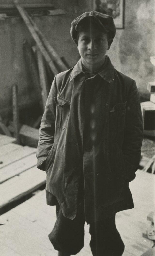 Gehülfe in Geisers Atelier, um 1938