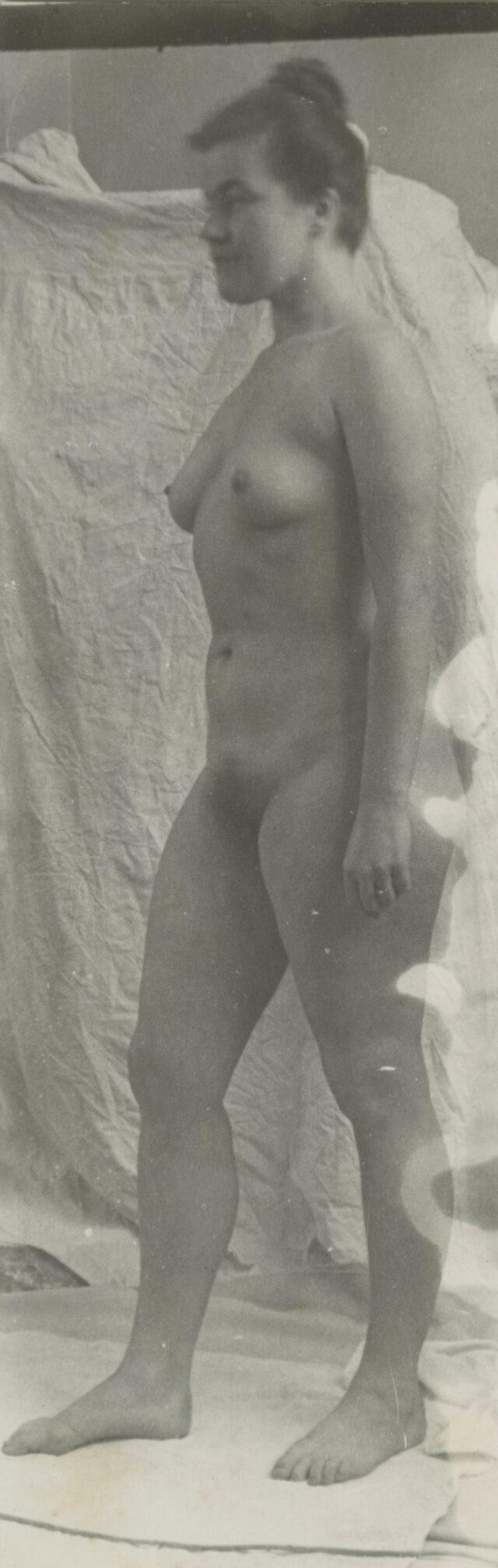 Das Modell Doris Eber, um 1950