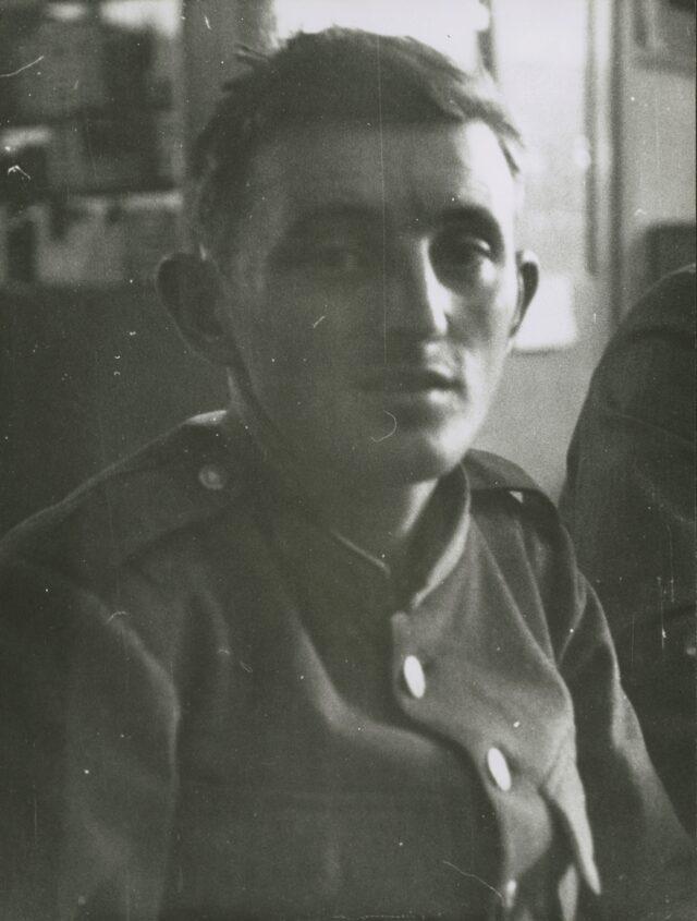 Schweizer Soldat, um 1940