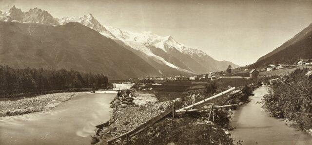 Vallée de Chamonix und Mont Blanc, 1860er Jahre