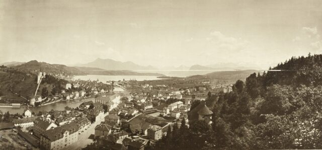 Luzern, 1860er Jahre