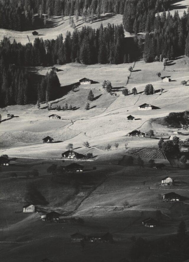 Landschafts-Panorama (links), 1930er Jahre
