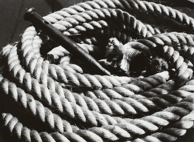 Schifftau, um 1930