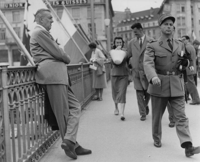Jacques Tati, Lausanne, um 1959