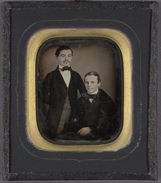 Porträt zweier Männer, ca. 1840-1860