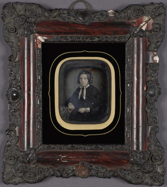 Frauenporträt, ca. 1850er Jahre
