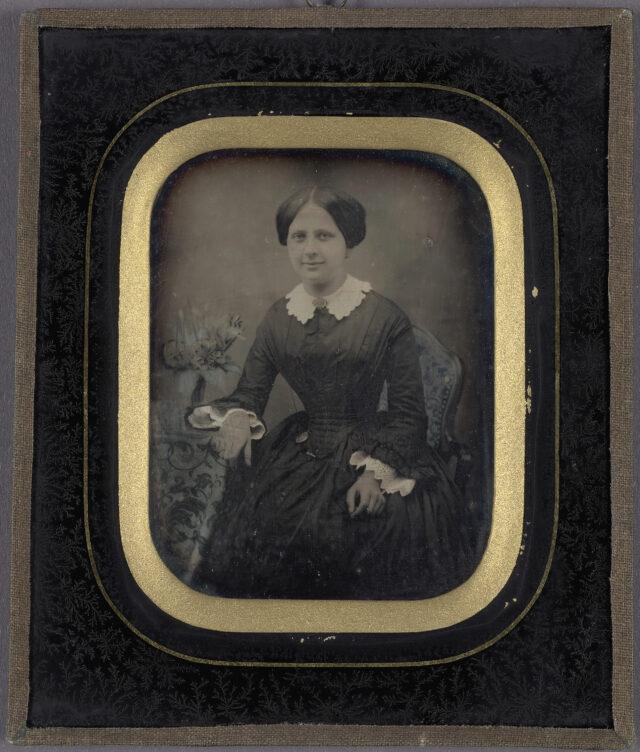 Frauenporträt, ca. 1840-1860