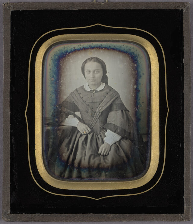 Louise Netscher-Bosshardt, um 1860