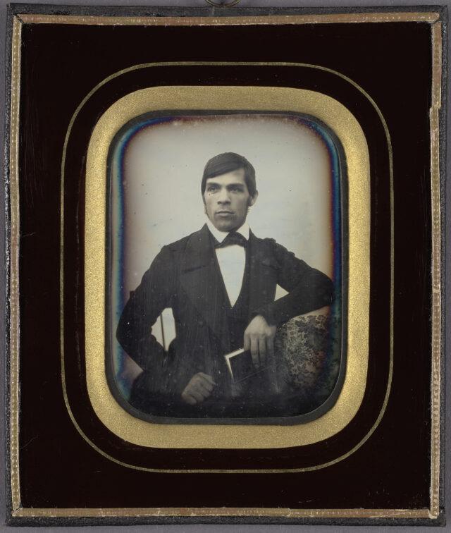 Männerporträt, ca. 1850er Jahre