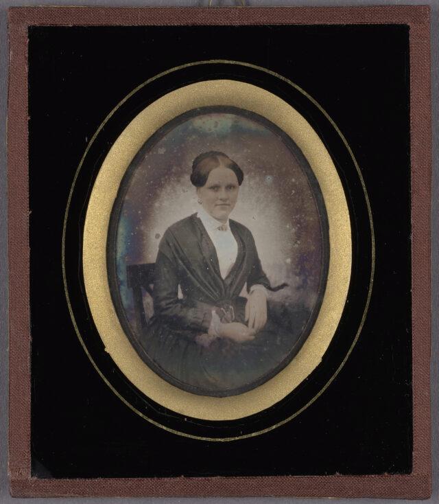 Frauenporträt, 1850er Jahre