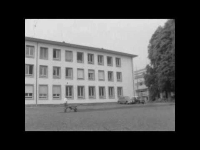 [Remise de la clef à la Ligue des Sociétés Croix-Rouge par la République et Canton de Genève (1959)] / Inauguration Ligue