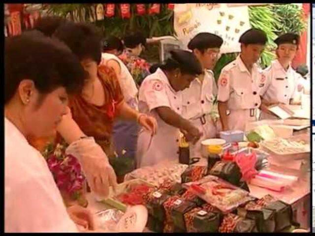 "The Resource Development Programme Presents Events The Singapore Fair ""Elements for success"" (5)"