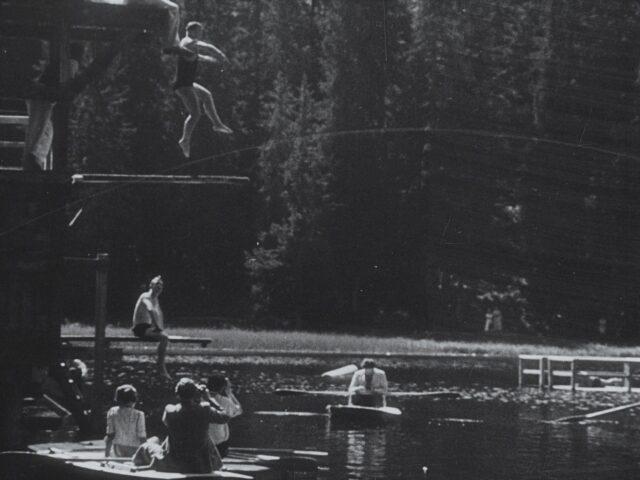 Schweizerische Schwimm-Meisterschaft 1937 in Arosa