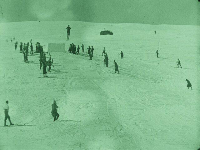 Wintersport in Arosa