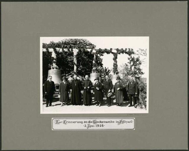 Glockenweihe Adliswil, P. Ignaz (Josef Thomas) Staub von Menzingen