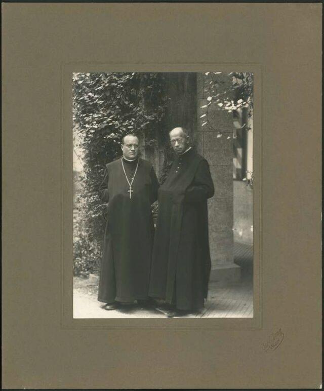 P. Thomas (Kaspar) Bossart von Altishofen, P. Ignaz (Josef Thomas) Staub von Menzingen