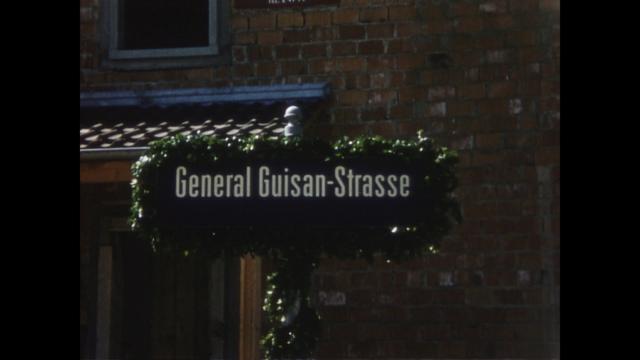 Einweihung General Guisan-Strasse