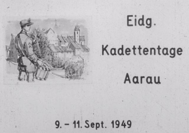 Eidg. Kadettentage, 9.-11. Sept. 1949