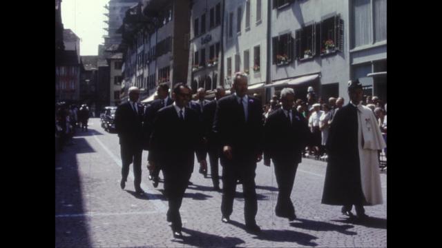 Besuch des Bundesrates, 4.7.1966