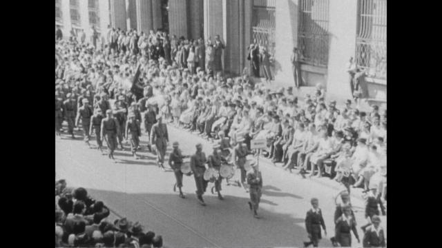 Eidg. Kadettentage 1. Teil, 9.-11.9.1949