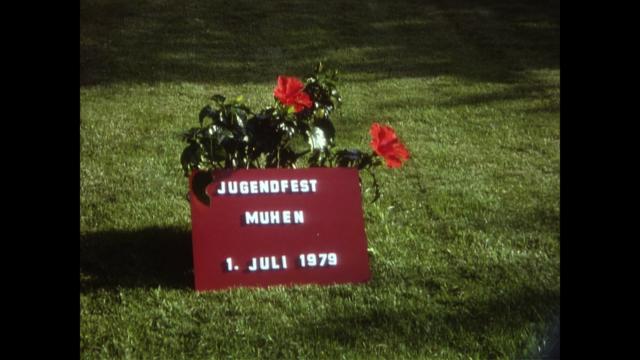 Einweihung Mehrzweckgebäude, 1.7.1979