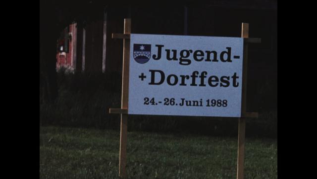 Jugend- und Dorffest, 24.-26. Juni 1988