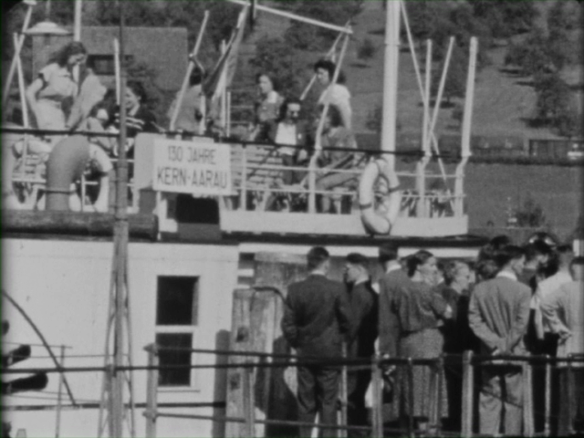 """Firmenausflug vom 28.6.1949, Bürgenstock, 130 Jahre Kern"" – Teil 1"