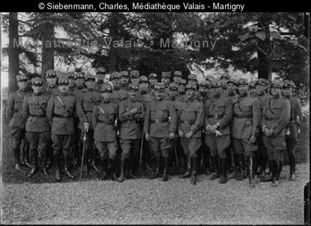 [Etat-major du 105 Landwehr, Monthey]