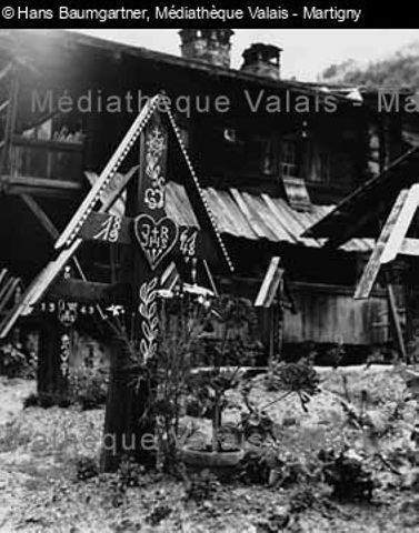 Gräben in Kippel, Lötschental